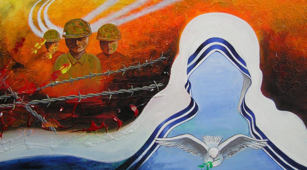 'War and peace' - Saleem Ladji